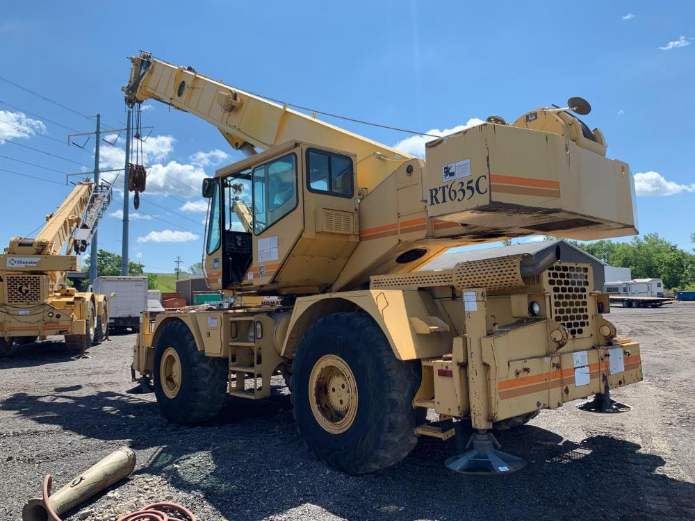 Detail photo of  Grove RT635C from Construction Equipment Guide
