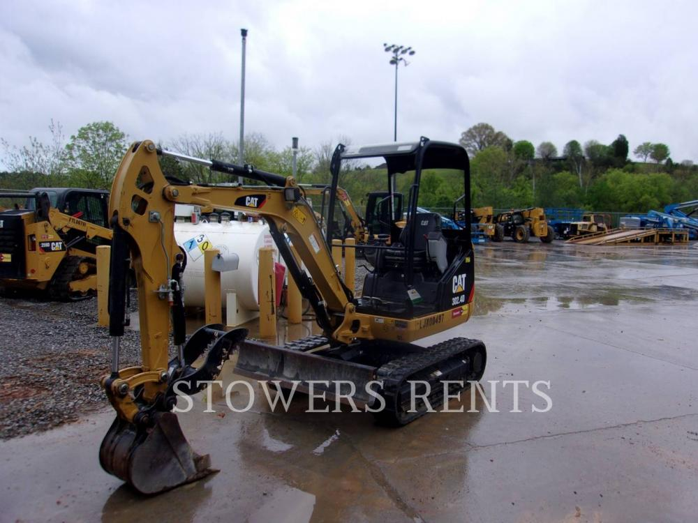 Detail photo of 2015 Caterpillar 302.4D from Construction Equipment Guide