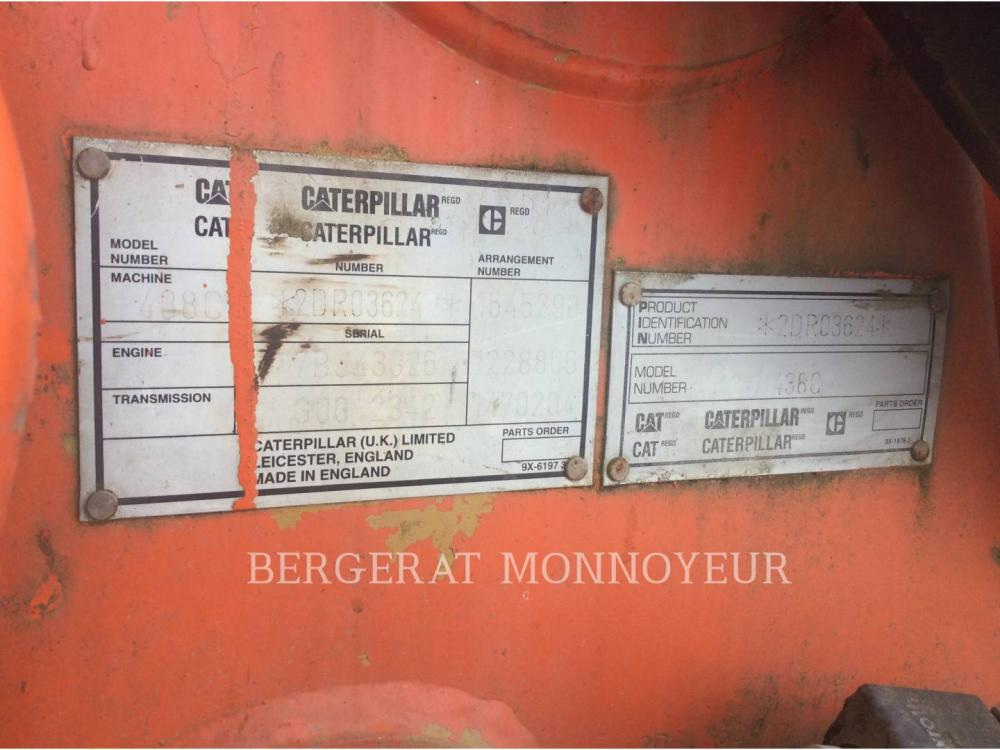 Detail photo of 2000 Caterpillar 438C from Construction Equipment Guide