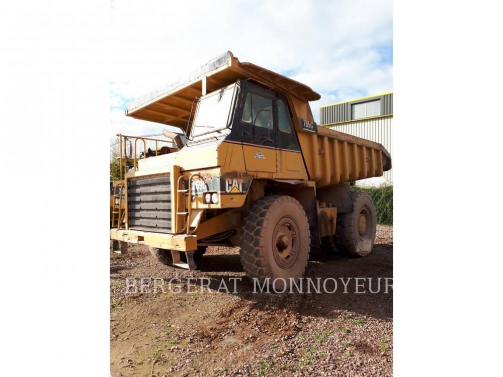 Detail photo of 1985 Caterpillar 769C from Construction Equipment Guide