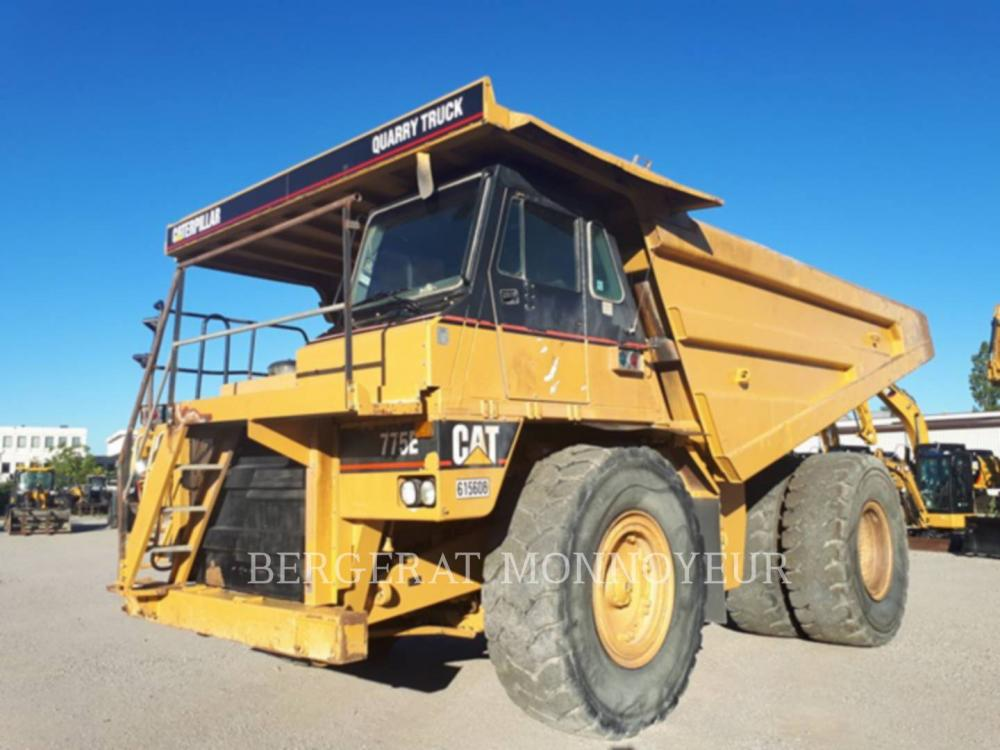 Detail photo of 2002 Caterpillar 775E from Construction Equipment Guide