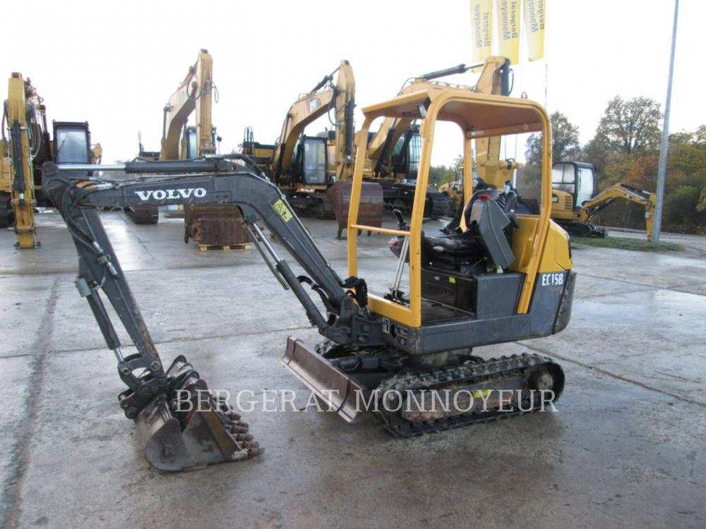 Detail photo of 2009 Volvo EC15B from Construction Equipment Guide