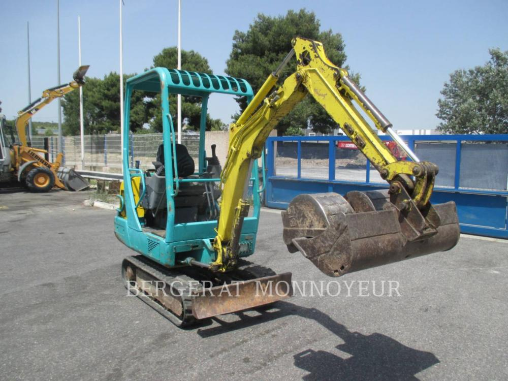Detail photo of 2003 Yanmar B15 from Construction Equipment Guide