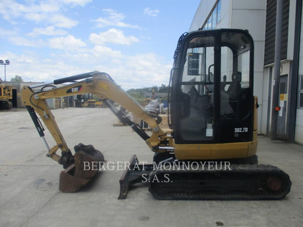 Detail photo of 2014 Caterpillar 302.7 DCR from Construction Equipment Guide