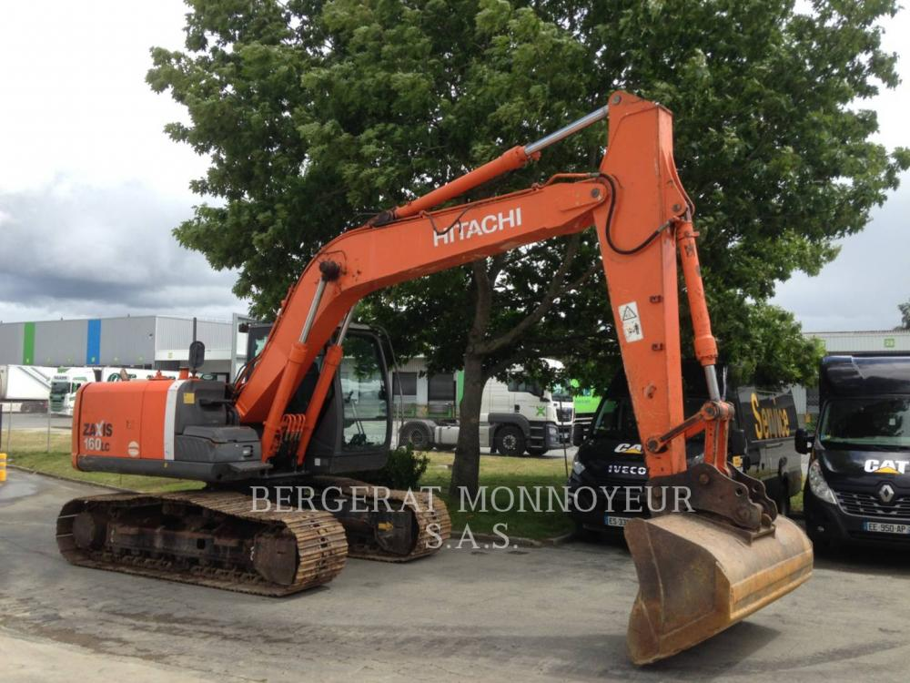 Detail photo of 2008 Hitachi ZX160LC-3 from Construction Equipment Guide