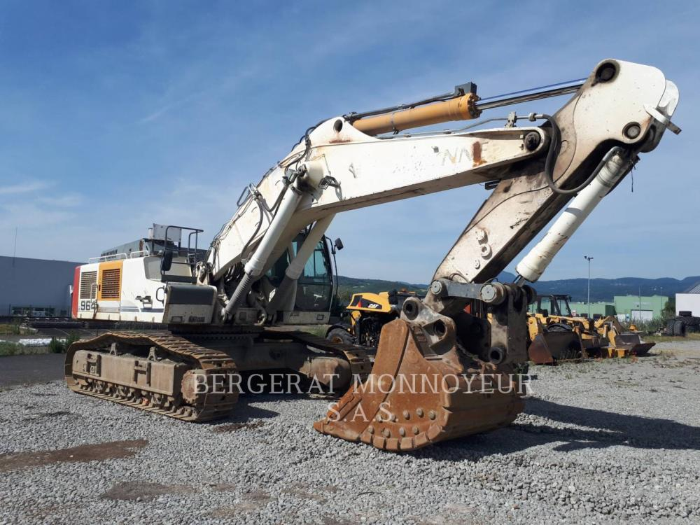 Detail photo of 2008 Liebherr R964C from Construction Equipment Guide