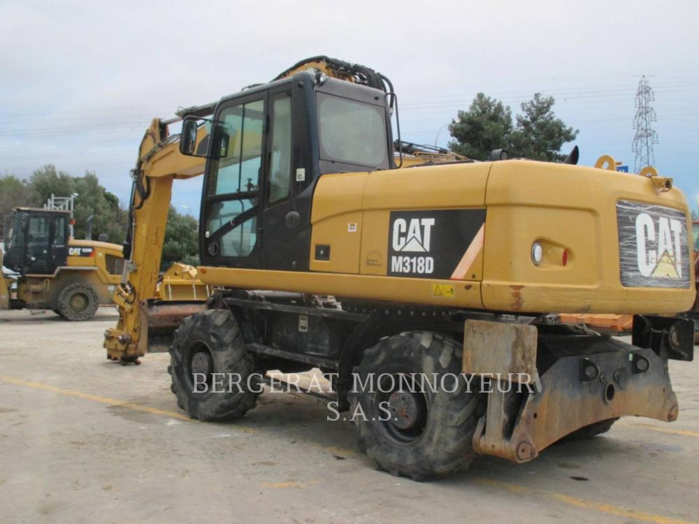 Detail photo of 2014 Caterpillar M318D from Construction Equipment Guide