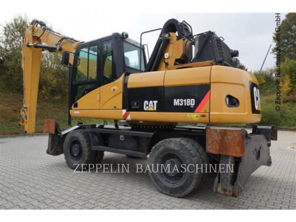 Detail photo of 2008 Caterpillar M318D from Construction Equipment Guide