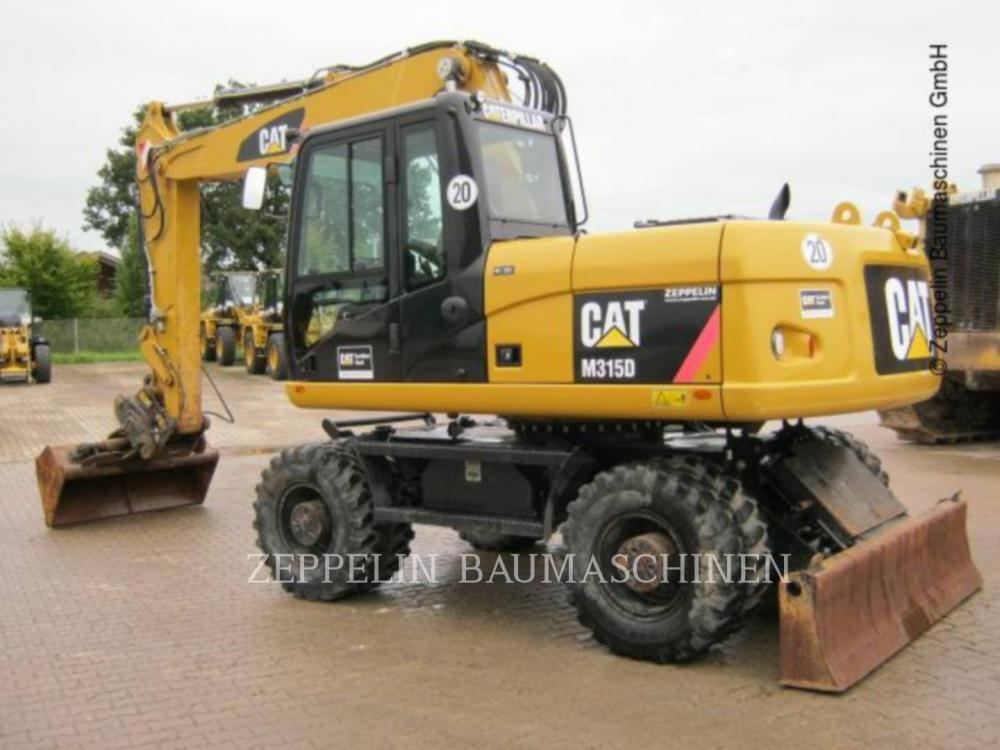 Detail photo of 2010 Caterpillar M315D from Construction Equipment Guide