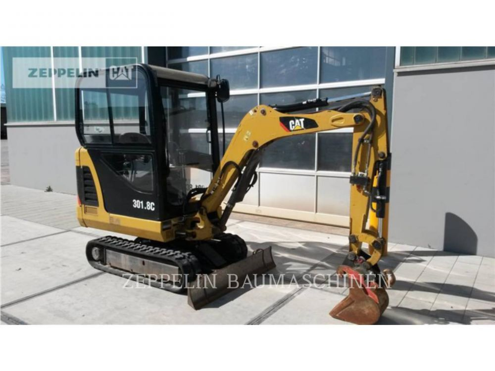 Detail photo of 2012 Caterpillar 301.8 from Construction Equipment Guide