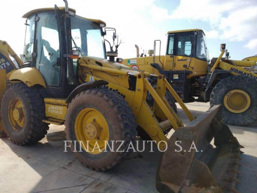 Detail photo of 2007 Komatsu WB97S from Construction Equipment Guide