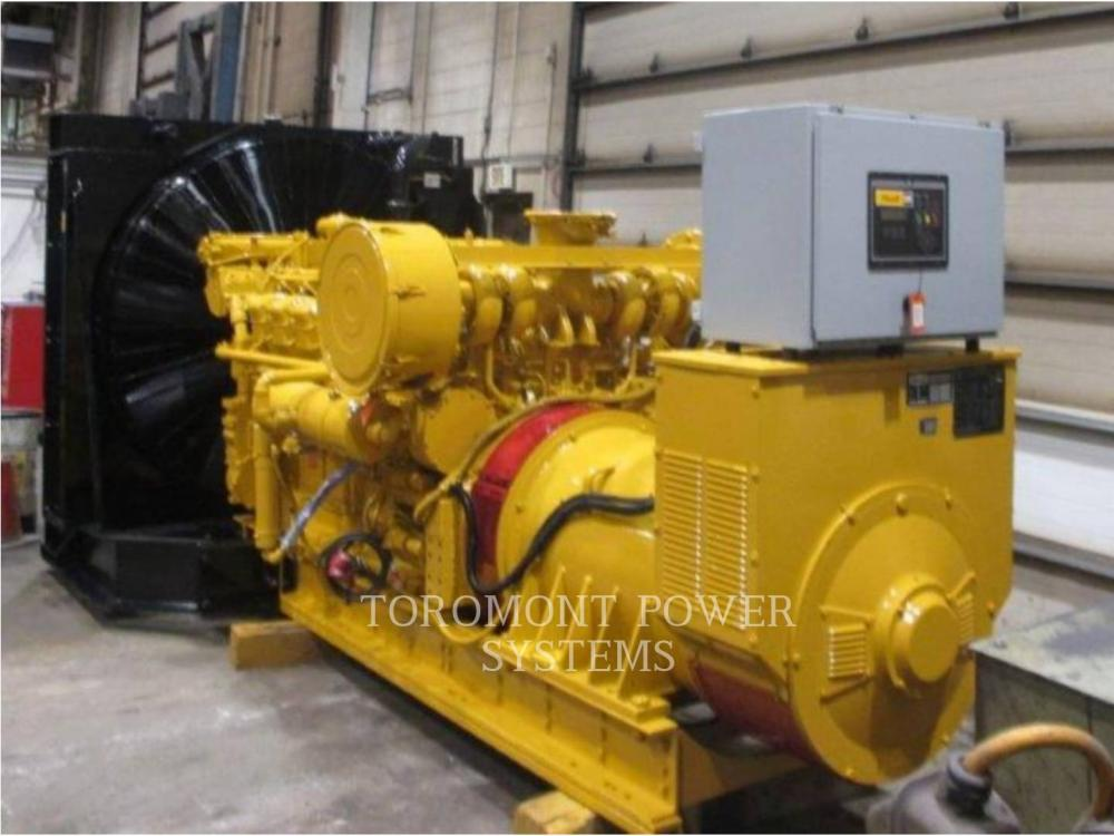 Detail photo of 1981 Caterpillar 3512, 850KW 600 VOLTS from Construction Equipment Guide