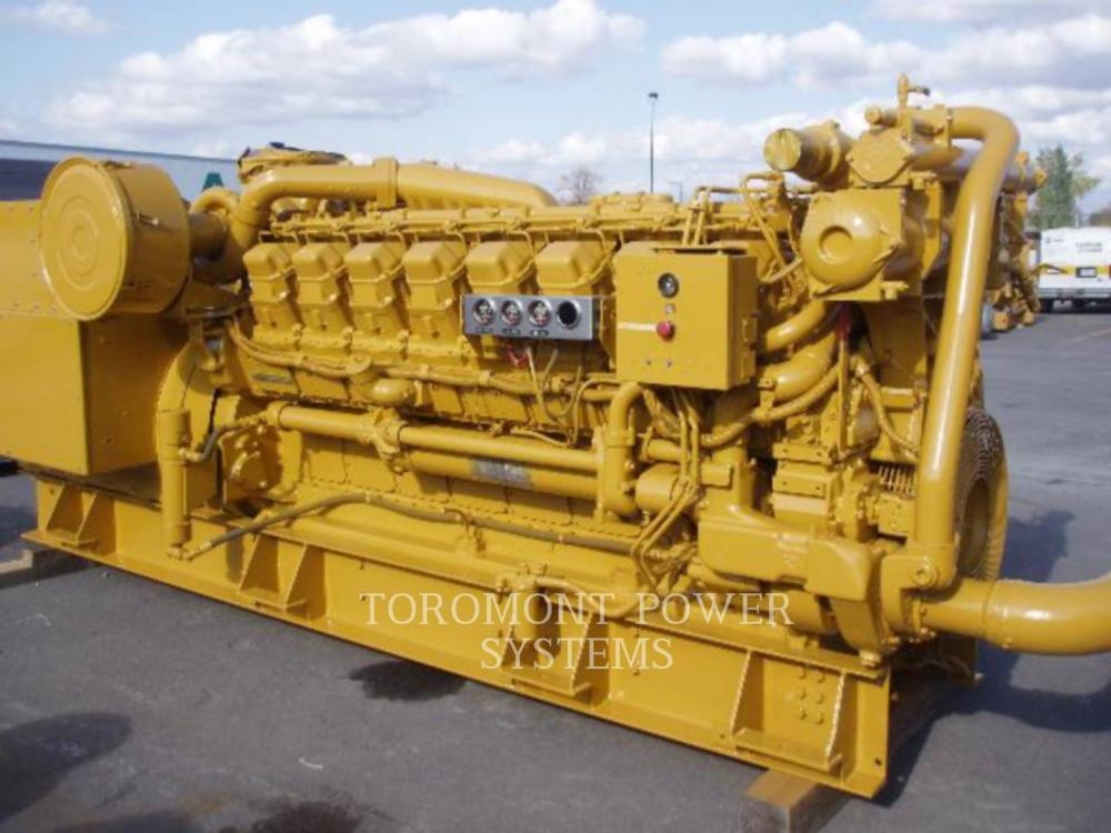 Detail photo of 1989 Caterpillar 3516 1500KW 4160V from Construction Equipment Guide