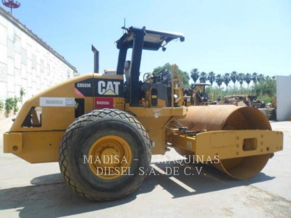 Detail photo of 2014 Caterpillar CS533E from Construction Equipment Guide