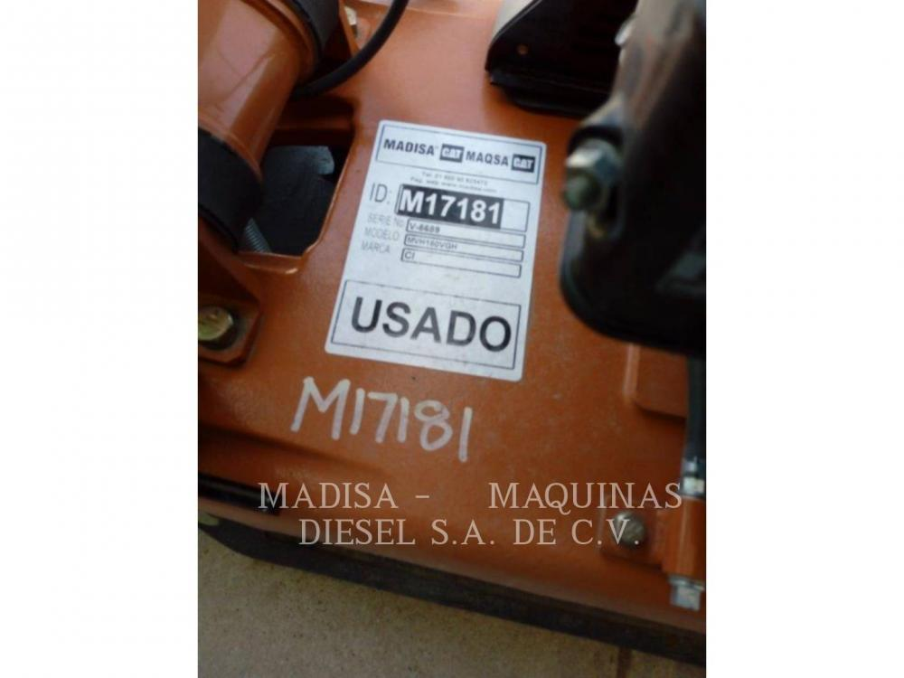 Detail photo of 2009 Multiquip MVH-150VGH from Construction Equipment Guide