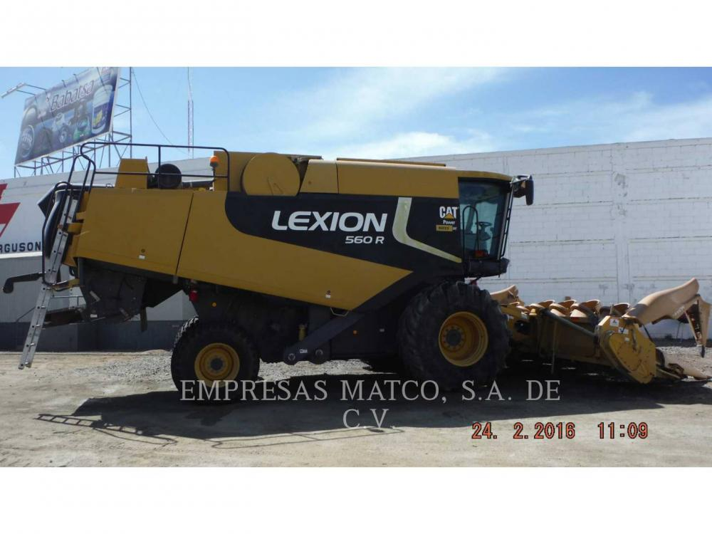 Detail photo of 2009 Lexion 560R from Construction Equipment Guide