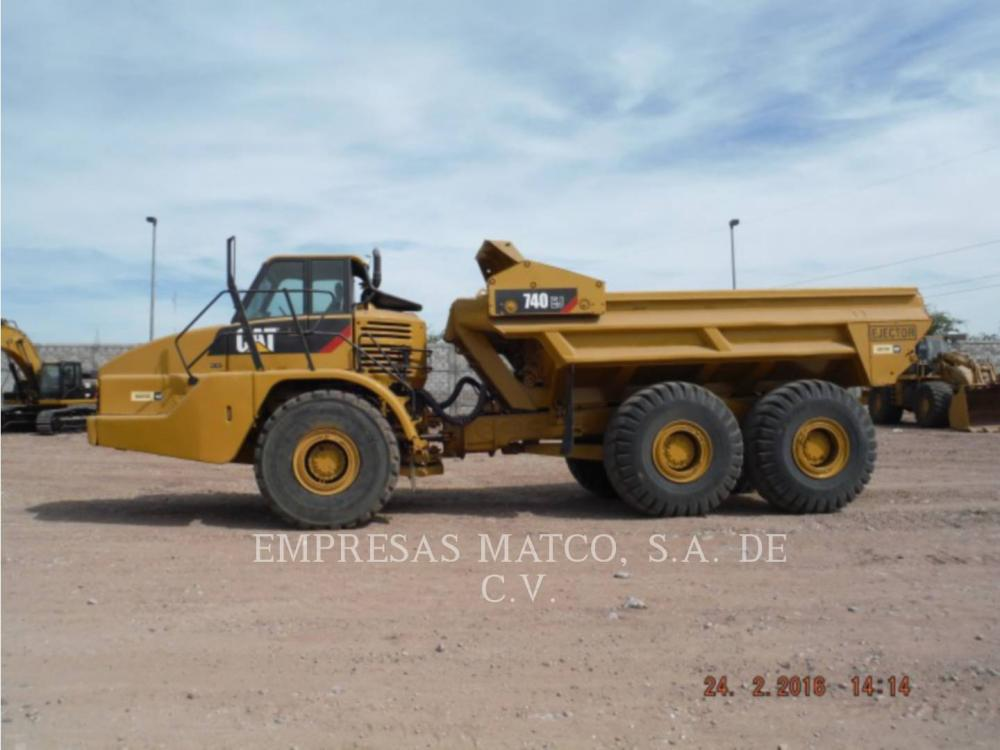 Detail photo of 2008 Caterpillar 740EJ from Construction Equipment Guide