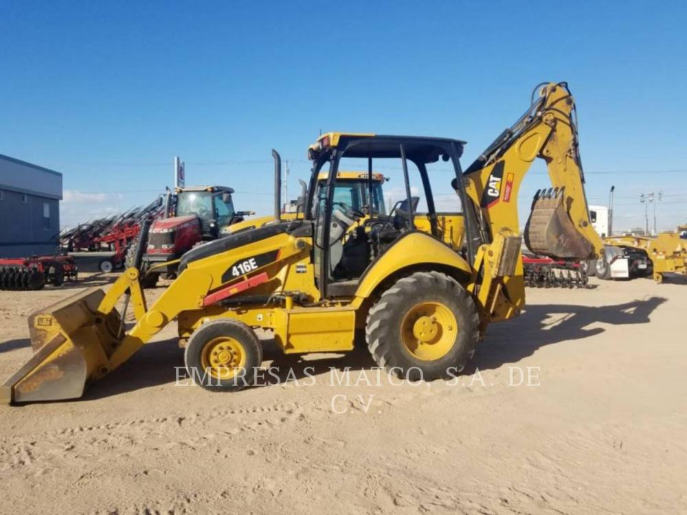 Detail photo of 2015 Caterpillar 416E from Construction Equipment Guide