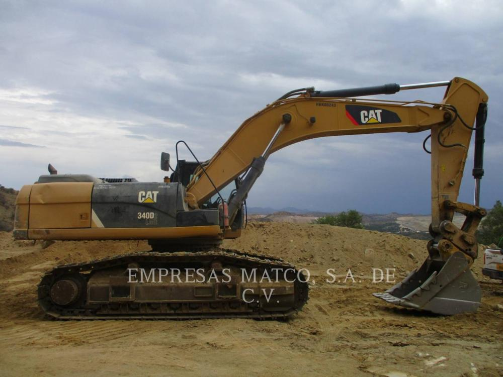 Detail photo of 2014 Caterpillar 340D2L from Construction Equipment Guide