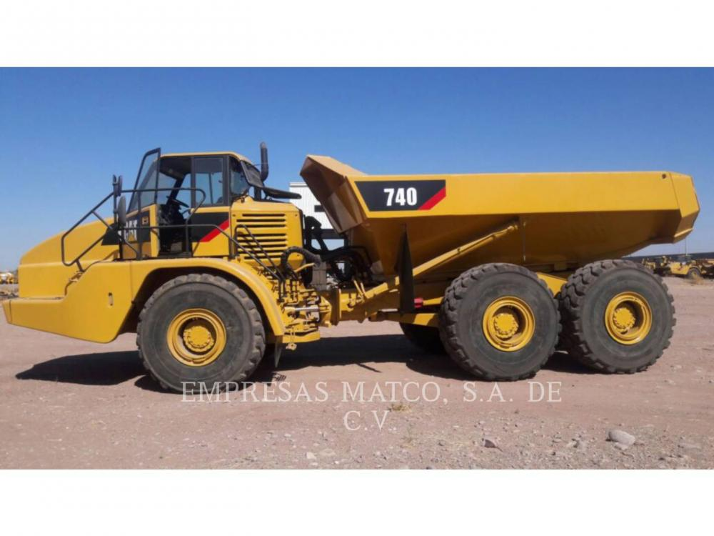 Detail photo of 2006 Caterpillar 740 from Construction Equipment Guide