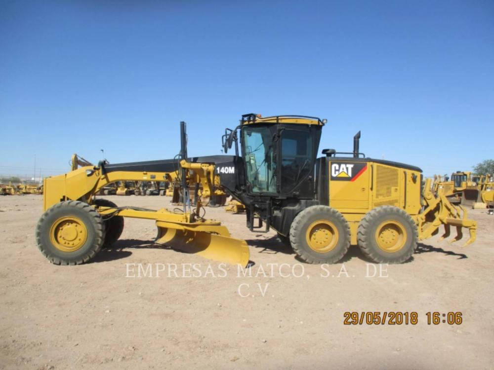 Detail photo of 2008 Caterpillar 140M from Construction Equipment Guide