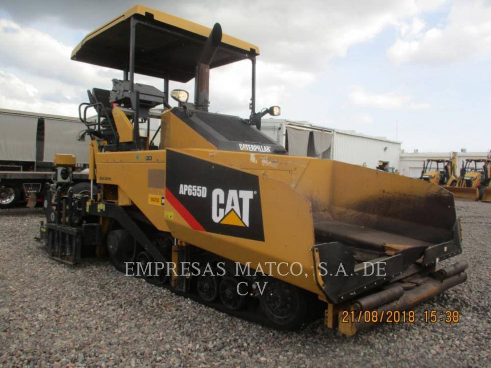 Detail photo of 2014 Caterpillar AP655D from Construction Equipment Guide