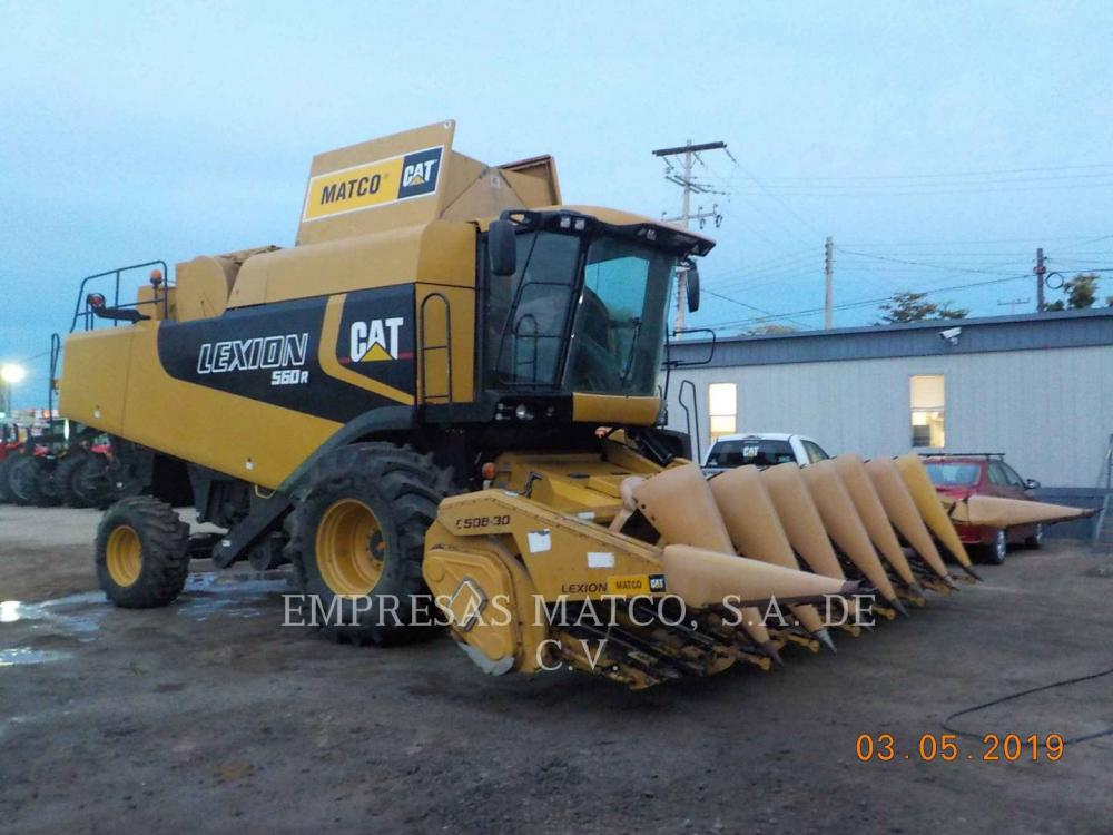 Detail photo of 2007 Caterpillar LEXION 560R from Construction Equipment Guide