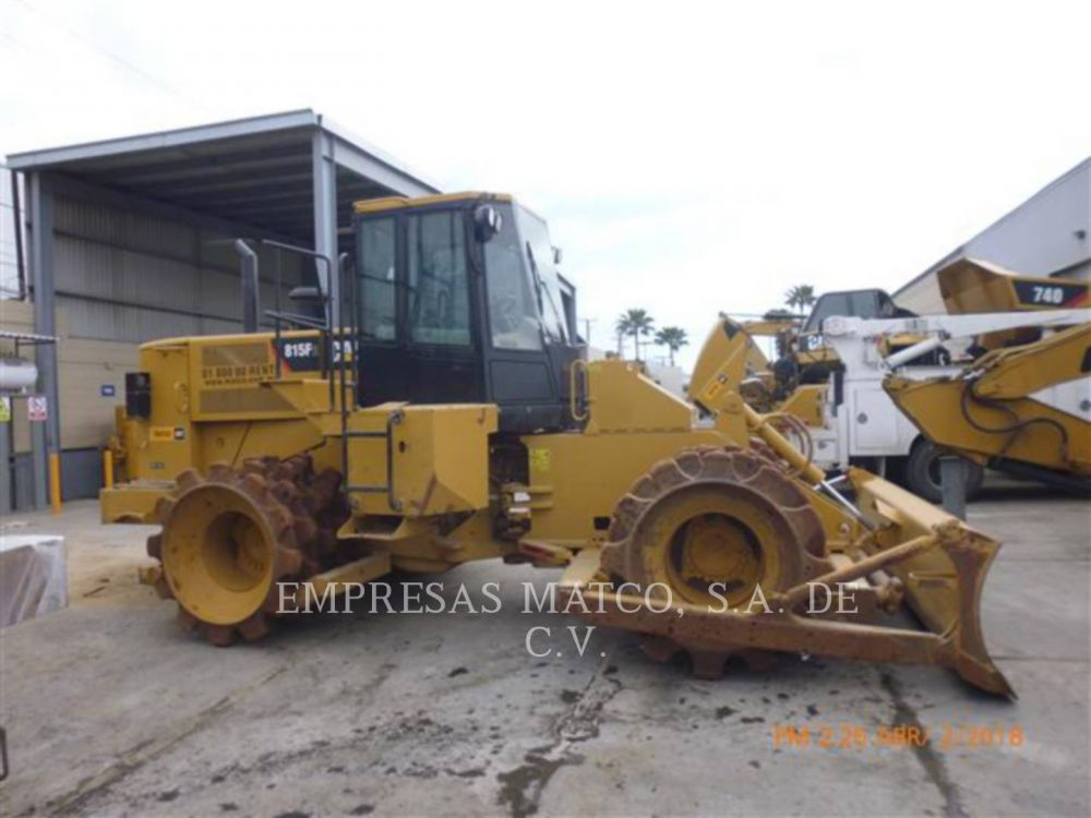 Detail photo of 2013 Caterpillar 815F II from Construction Equipment Guide