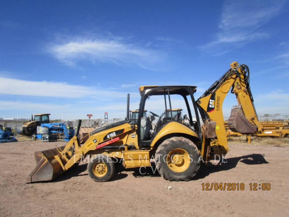 Detail photo of 2014 Caterpillar 416E from Construction Equipment Guide