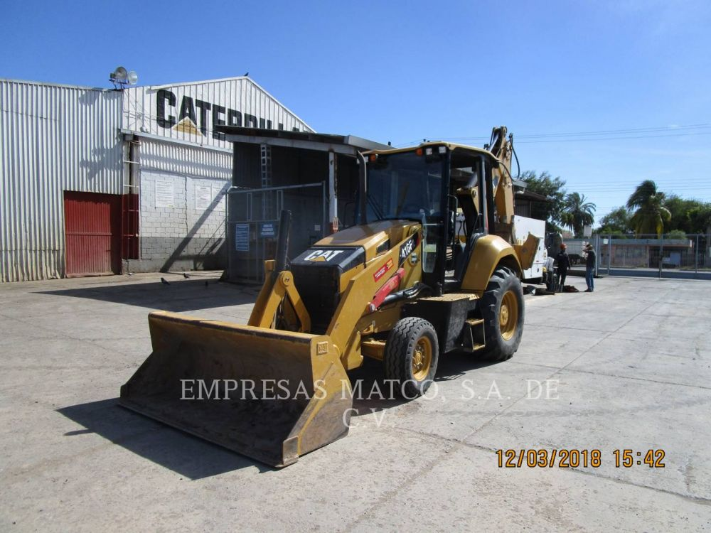 Detail photo of 2017 Caterpillar 416F from Construction Equipment Guide