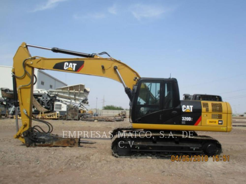 Detail photo of 2016 Caterpillar 320D from Construction Equipment Guide