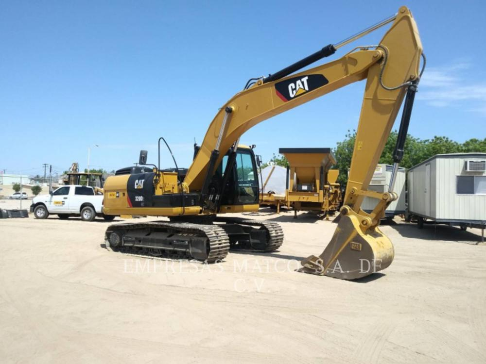 Detail photo of 2015 Caterpillar 320D II from Construction Equipment Guide