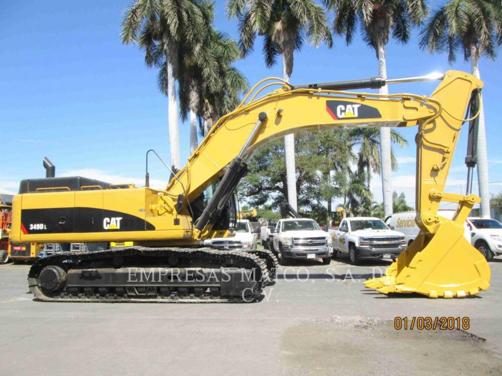 Detail photo of 2012 Caterpillar 349DL from Construction Equipment Guide