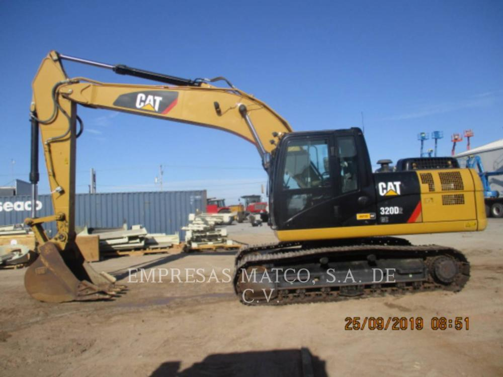 Detail photo of 2016 Caterpillar 320D II from Construction Equipment Guide