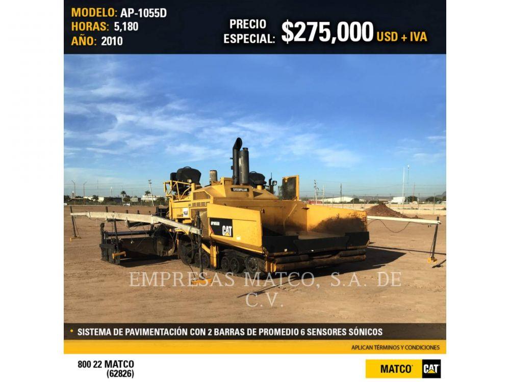 Detail photo of 2010 Caterpillar AP1055D from Construction Equipment Guide