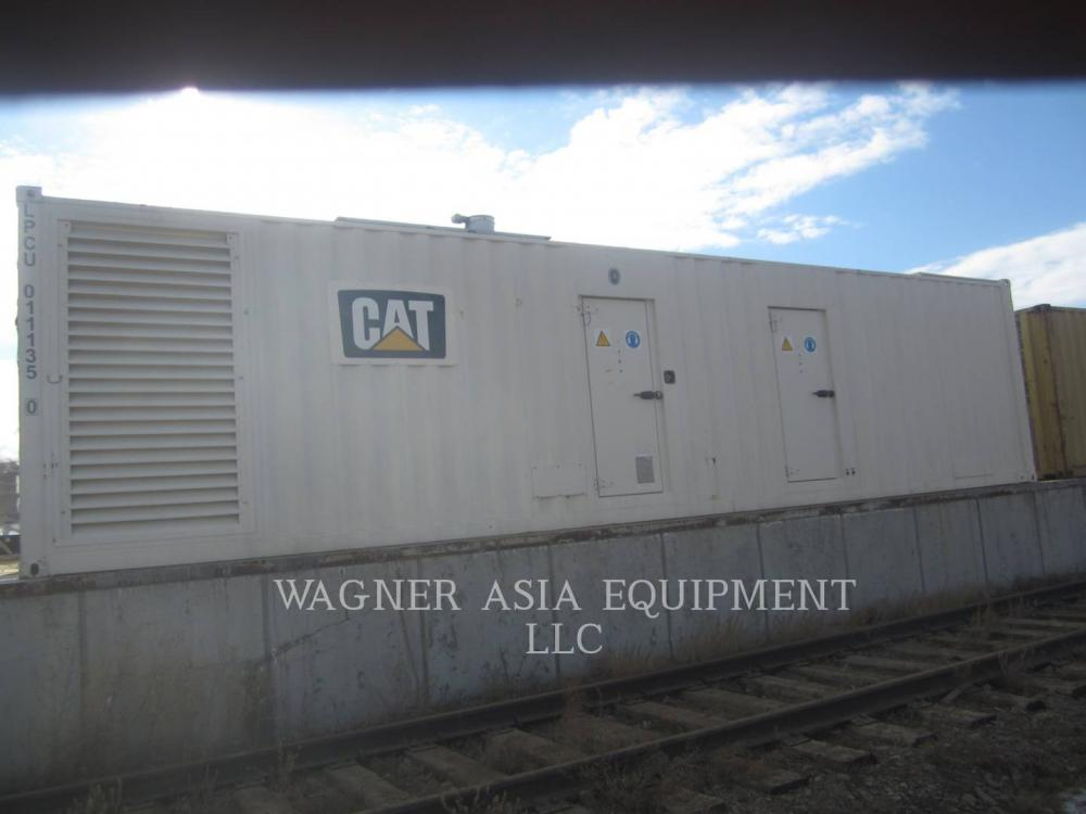 Detail photo of 2012 Genset CAT3512B from Construction Equipment Guide