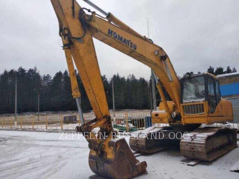 Detail photo of 2003 Komatsu PC200-7 from Construction Equipment Guide