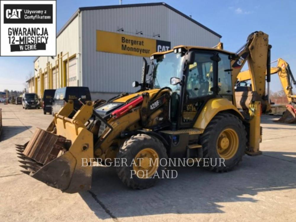 Detail photo of 2015 Caterpillar 428F from Construction Equipment Guide
