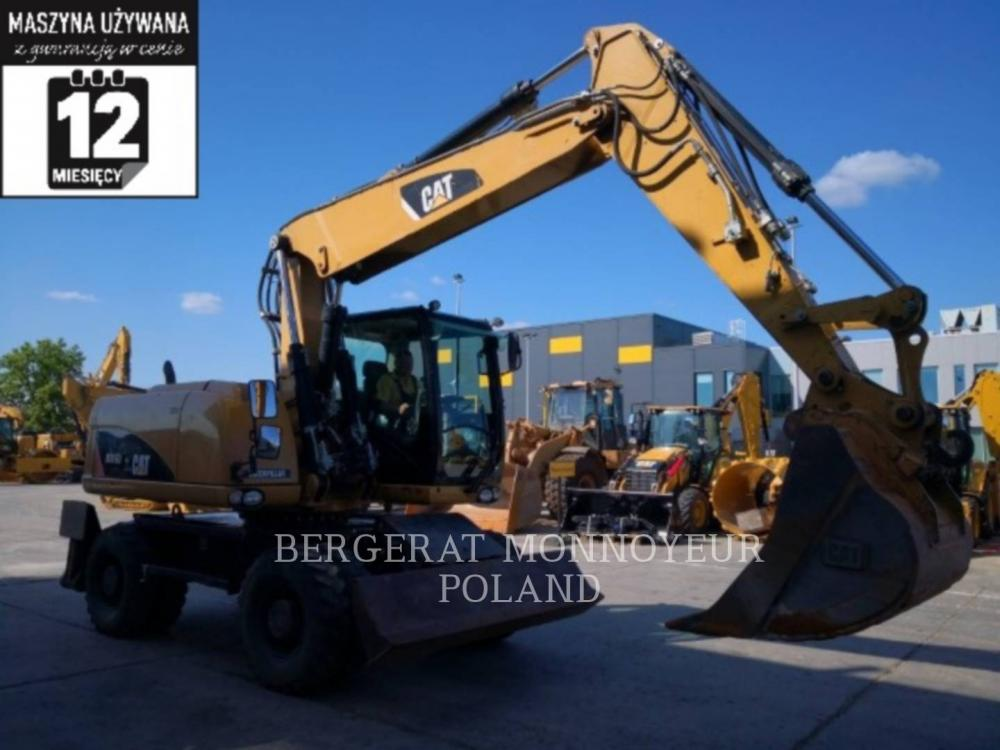 Detail photo of 2010 Caterpillar M316D from Construction Equipment Guide
