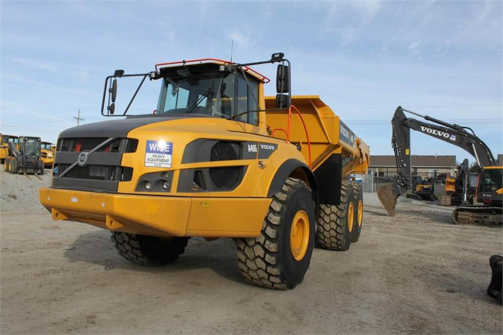 Detail photo of 2019 Volvo A40G from Construction Equipment Guide