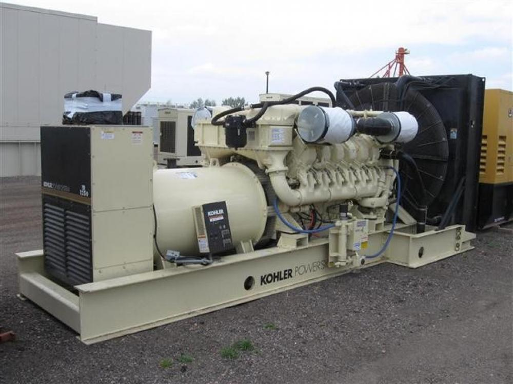 Detail photo of 1999 Kohler 1250 KW from Construction Equipment Guide