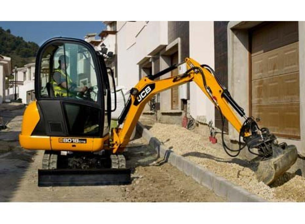 Detail photo of 2015 JCB 8018CTS from Construction Equipment Guide