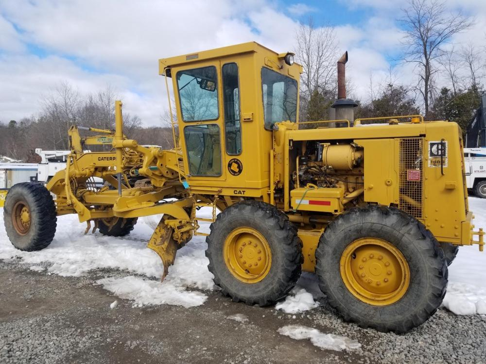 Detail photo of 1981 Caterpillar 140G from Construction Equipment Guide