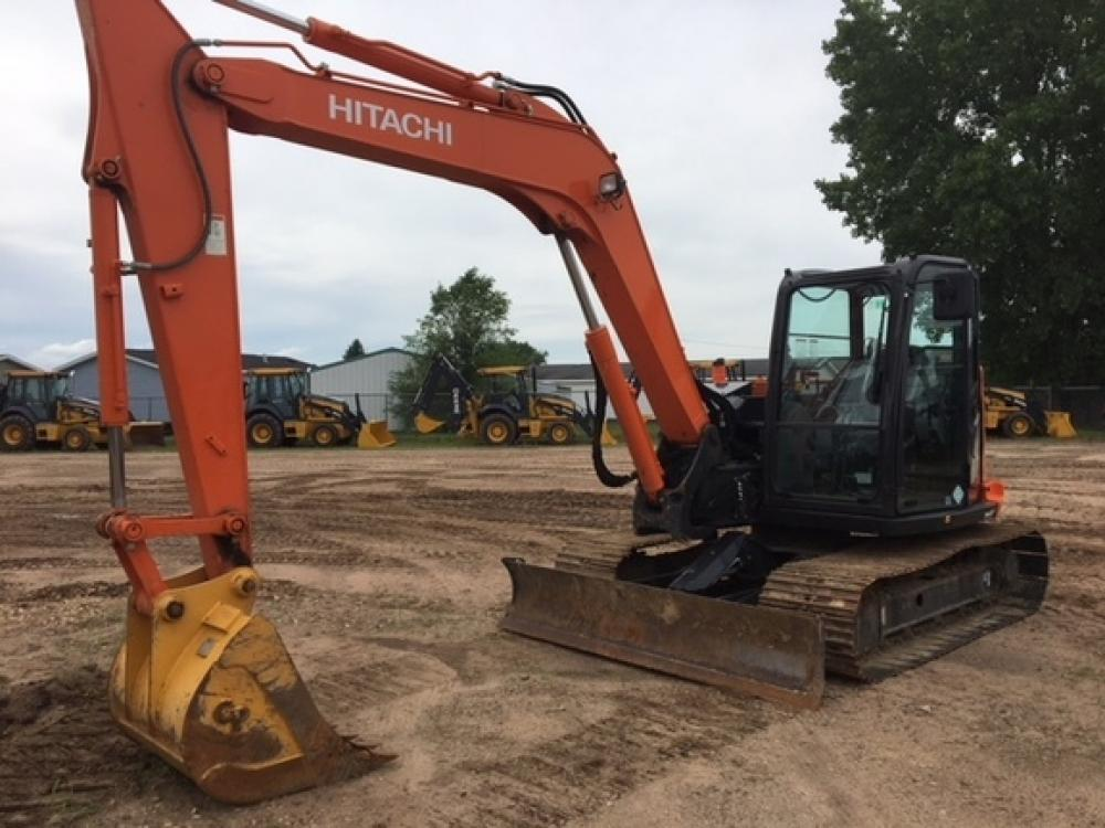 Detail photo of 2015 Hitachi ZX85-5 from Construction Equipment Guide