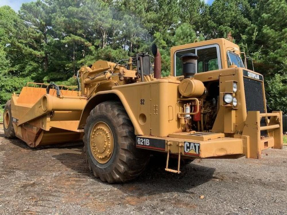 Detail photo of 1985 Caterpillar 621B from Construction Equipment Guide