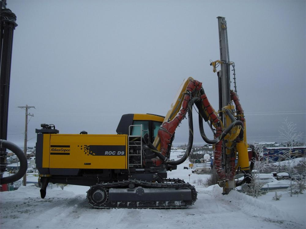 Detail photo of 2009 Atlas Copco ROC D9 from Construction Equipment Guide