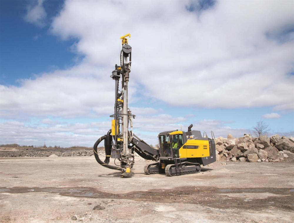 Detail photo of 2012 Atlas Copco FLEXIROC D65 from Construction Equipment Guide