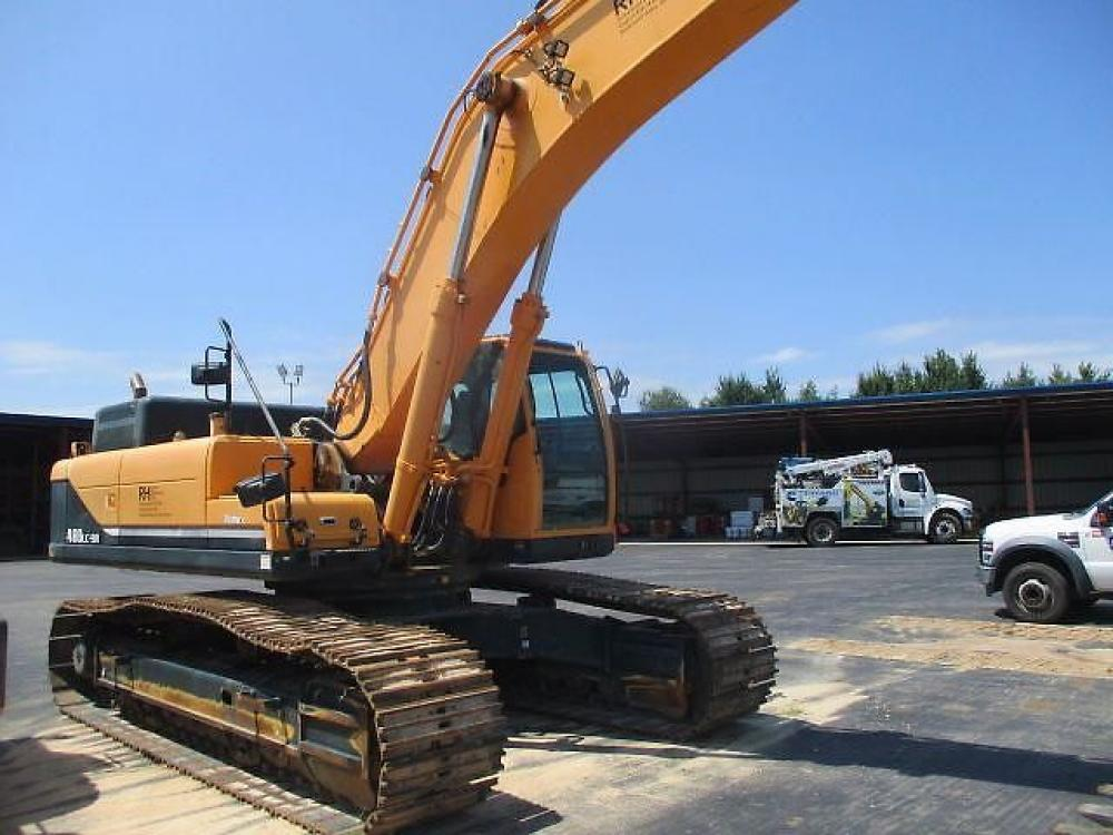 Detail photo of 2015 Hyundai ROBEX 480 LC-9 from Construction Equipment Guide