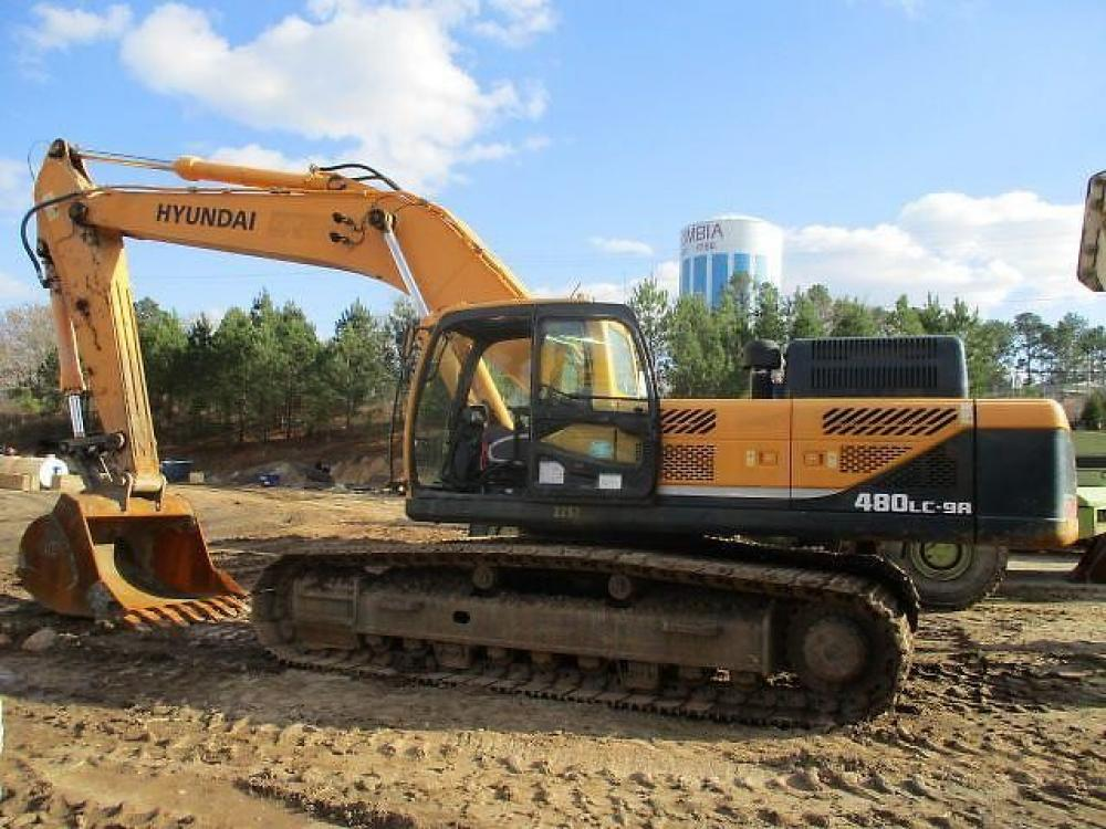 Detail photo of 2013 Hyundai ROBEX 480 LC-9 from Construction Equipment Guide