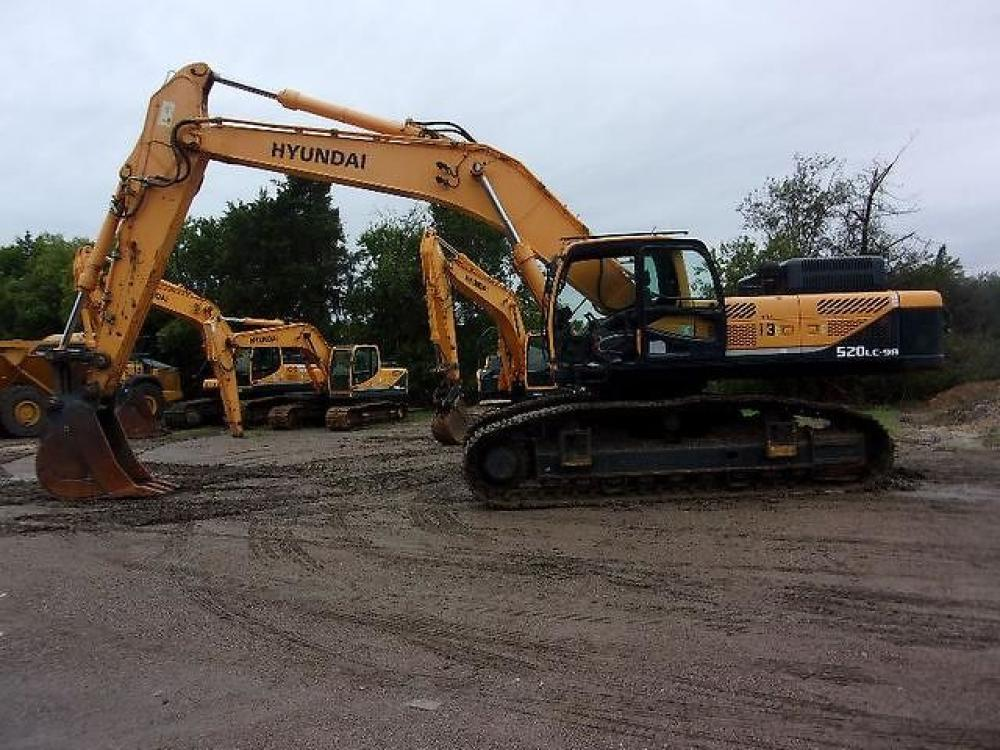 Detail photo of 2013 Hyundai ROBEX 520 LC-9A from Construction Equipment Guide